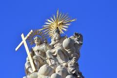 Heilig Drievuldigheidsstandbeeld Boedapest Royalty-vrije Stock Fotografie