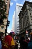 Heilig-dumme Parade Stockfoto