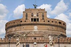 Heilig-Engelsschloß in Rom Lizenzfreies Stockbild