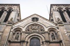 Heilig-Ferdinand-Kirche im Bordeaux stockbilder