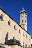 Heilig Geist church in Munich. Germany, Europe Royalty Free Stock Images