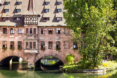 Heilig Geist Spital Nuremberg Bavaria Germany Stock Photography