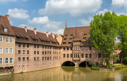 Heilig-Geist-Spital in Nuremberg, Germany Royalty Free Stock Image
