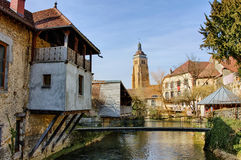 Heilig-Geradekirche in Arbois Lizenzfreie Stockfotografie
