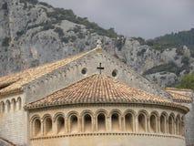 Heilig-guilhem-Le-Wüste, ein Dorf im herault, Languedoc, Frankreich stockfotos