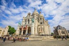 Heilig Hart van Parijs Stock Afbeelding