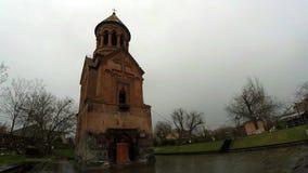 Heilig-heilige Mutter der Gott-Kirche in Kotajk stock video