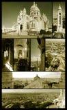 Heilig-Inneres von Paris auf grunge Lizenzfreies Stockbild