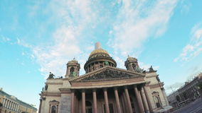 Heilig-Isaac `s Kathedrale stock footage