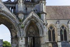 Heilig-Jean-DES-vignes Abtei, Soissons, Frankreich Lizenzfreie Stockfotografie