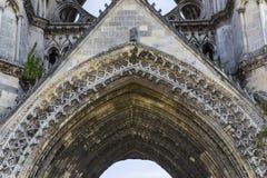 Heilig-Jean-DES-vignes Abtei, Soissons, Frankreich Stockfotos