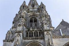 Heilig-Jean-DES-vignes Abtei, Soissons, Frankreich Stockbilder