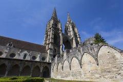 Heilig-Jean-DES-vignes Abtei, Soissons, Frankreich Lizenzfreies Stockbild