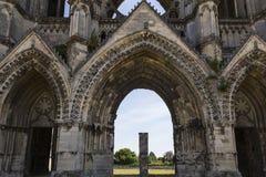 Heilig-Jean-DES-vignes Abtei, Soissons, Frankreich Lizenzfreies Stockfoto