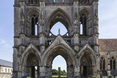 Heilig-Jean-DES-vignes Abtei, Soissons, Frankreich Stockfoto