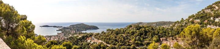 Heilig-Jean-Kappe-Ferrat auf Taubenschlag d ` Azur, Frankreich Stockbild