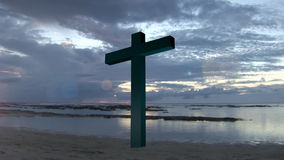 Heilig Kruis 1 stock videobeelden