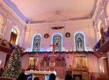 Heilig kruis van Kerstmis Royalty-vrije Stock Afbeeldingen