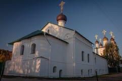 Heilig Maria-Lichtmisklooster Gorokhovets Het Vladimir-gebied Begin September 2015 Royalty-vrije Stock Foto's