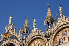 Heilig-Mark Basilica-Helme Stockbilder