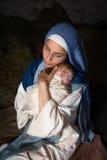 Heilig moederschap Stock Foto