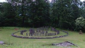 Heilig Oud Hout stock videobeelden