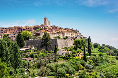 Heilig-Paul-De-Vence in Frankreich lizenzfreie stockfotos