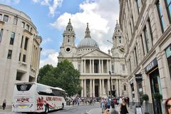 Heilig-Pauls Kathedrale, London Stockbild