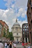 Heilig-Pauls Kathedrale, London Stockbilder