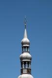 Heilig-Petri Pauli-Kirchturm Stockbild