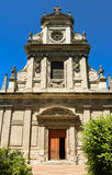 Heilig-Vincent-Kirche liegt in der Mitte von Blois, Frankreich Lizenzfreie Stockfotografie