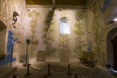 Heiligblaise-DES-simples Kapelle, Milly-La foret, Frankreich Lizenzfreie Stockbilder