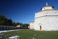 Heiligdom 2 van Macereto Stock Afbeeldingen