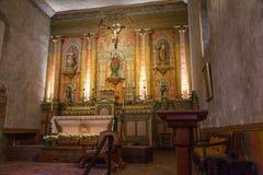 Heiligdom bij Opdracht Santa Barbara royalty-vrije stock afbeelding