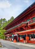 Heiligdom bij Rinnoji-tempel in Nikko Royalty-vrije Stock Afbeelding