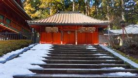 Heiligdom bij Rinnoji Tempel, Nikko, Japan Stock Foto's
