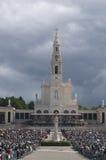 Heiligdom Fatima, Mei 13 - 2009 Stock Afbeeldingen