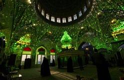Heiligdom (plechtige moskee) in Kashan, Iran Royalty-vrije Stock Foto's
