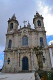 Heiligdom Sameiro in Braga Royalty-vrije Stock Afbeeldingen