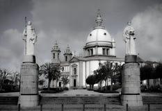 Heiligdom Sameiro in Braga stock fotografie
