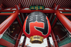 Heiligdom Senso -senso-ji Stock Afbeelding