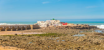 Heiligdom Sidi Abderrahman dichtbij de Atlantische Oceaan in Casablanca, Marokko Royalty-vrije Stock Foto's