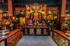 Heiligdom Tin Hau Temple Tsim Sha Tsui Kowloon Hong Kong Stock Foto
