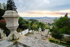 Heiligdom van Bom Jesus Braga stock foto's