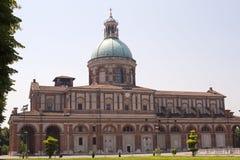 Heiligdom van Caravaggio (Bergamo, Lombardije, Italië) royalty-vrije stock afbeelding