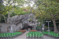 Heiligdom van Chiampo, Italië Stock Afbeelding