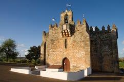 Heiligdom van de BoA-Nova van Senhora DA, een versterkte kerk Royalty-vrije Stock Foto's