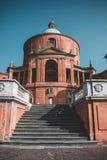 Heiligdom van de Madonna Di San Luca stock foto's