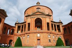 Heiligdom van de Madonna Di San Luca Stock Afbeelding