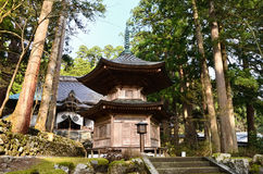 Heiligdom van Eiheiji-tempel, Fukui Japan royalty-vrije stock foto's
